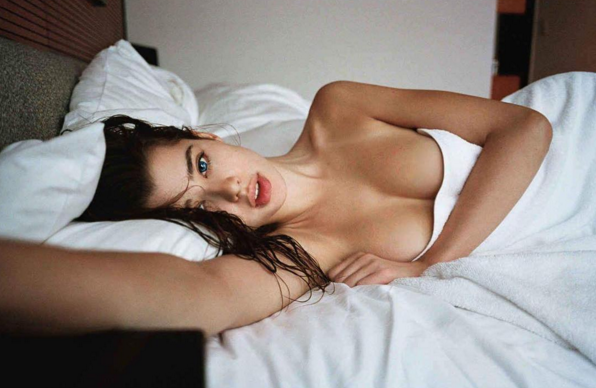 Photo from Playboy shoot-has since been deleted from her Instagram.