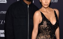 Kanye West and Kim Kardashian West attend Harper's Bazaar's celebration of 'ICONS By Carine Roitfeld' presented by Infor, Laura Mercier, and Stella Artois in New York City.