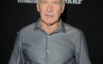 Harrison Ford attends the 40 Years of Star Wars panel during the 2017 Star Wars Celebrationat Orange County Convention Center on April 13, 2017 in Orlando, Florida.