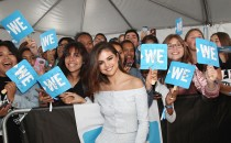 Host of WE Day California, actress/singer and UNICEF Goodwill Ambassador Selena Gomez attends WE Day California to celebrate young people changing the world at The Forum on April 27, 2017 in Inglewood