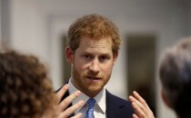Prince Harry visits Chatham House