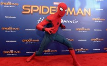 Spiderman attends the 'Spiderman: Homecoming' New York First Responders' Screening at Henry R. Luce Auditorium at Brookfield Place on June 26, 2017 in New York City.