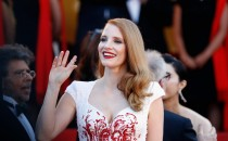 Jury member Jessica Chastain attends the Closing Ceremony of the 70th annual Cannes Film Festival at Palais des Festivals on May 28, 2017 in Cannes, France.