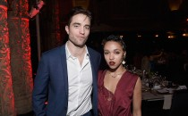 Actor Robert Pattinson and artist FKA Twigs attend the L.A. Dance Annual Gala at The Theatre at Ace Hotel on December 10, 2016 in Los Angeles, California.