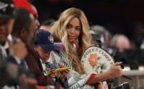 Beyonce attends the 2017 NBA All-Star Game at Smoothie King Center on February 19, 2017 in New Orleans, Louisiana.