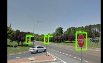 AI Noting the Stop Signs (IMAGE)