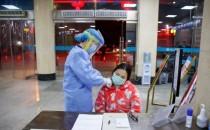 Coronavirus Nurses Working to Give Healthcare to Victims