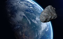 Potentially Hazardous Asteroid Hitting Earth