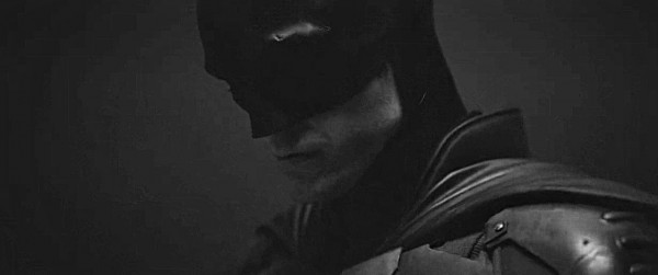 Robert Pattinson as Batman from the test footage published by Reeves.