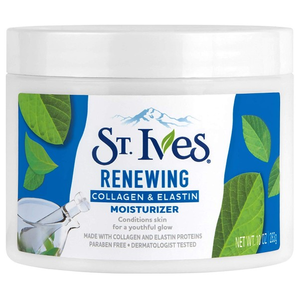 St. Ives Renewing Facial Moisturizer Collagen Elastin