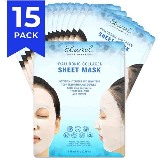 Ebanel Skincare Hyaluronic Collagen Sheet Mask