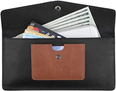 Dante Women RFID Blocking Wallet-Clutch Checkbook Wallet