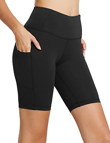 High Waist Biker Workout Shorts