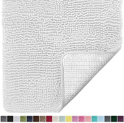 Gorilla Grip Original Luxury Chenille Bathroom Mat