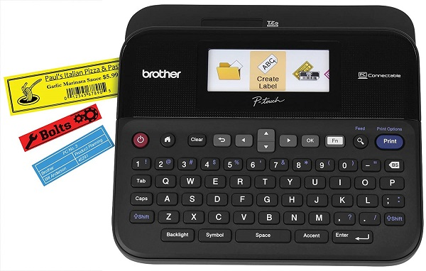Brother P-Touch PTD600 PC-Connectible Label Maker