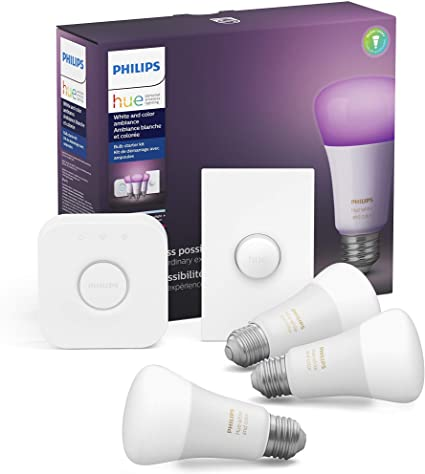 Philips Hue light bulbs