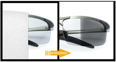 TJUTR Men's Photochromic Sunglasses
