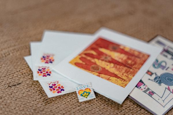 Postcard letters