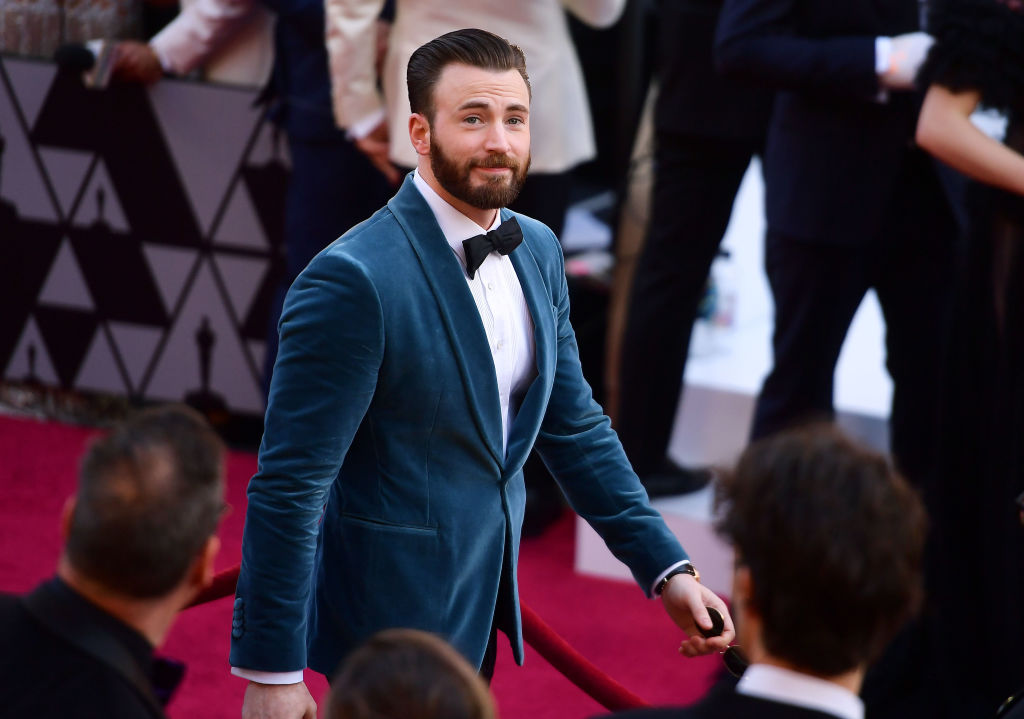 Chris Evans uses attention from nude leak to urge people