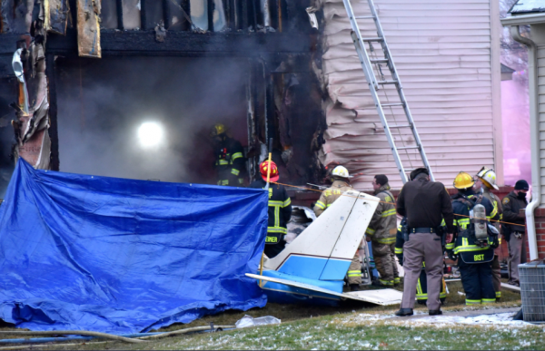 Small Private Plane Crashes Into Michigan Home, Kills a Family