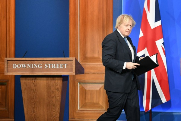 Boris Johnson Struggles to Bring Vaccine Passport Plan Through Parliament