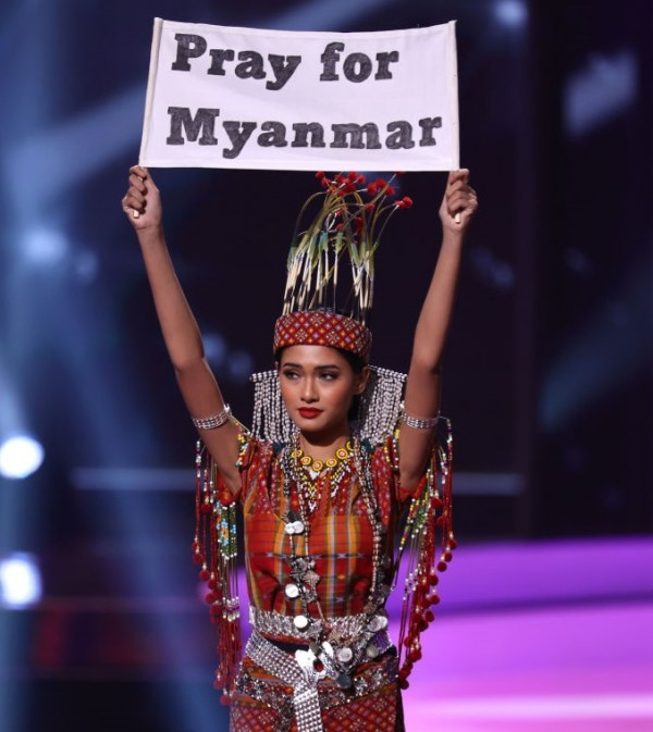 Miss Universe National Costumes Call for End of Asian Hate, Violence, Racism; Myanmar Asks to Pray for Her Country