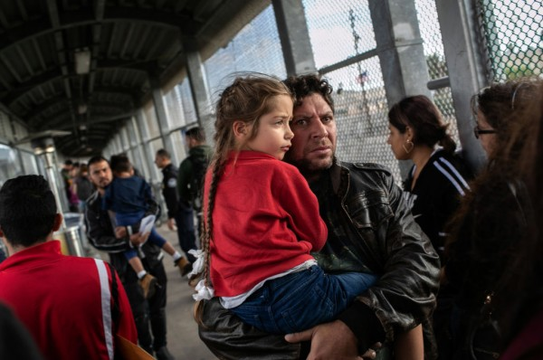 Migrants at the Southern Border