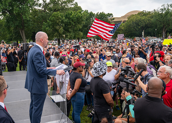 Justice for J6: Hundreds of Capitol Rioters Show Up on Saturday Despite Warnings from Right-Wing Figures