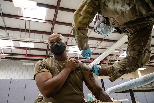 Vaccination among the U.S. military