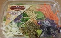 Oriental Salad with Sesame Ginger Dressing