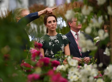 Members Of The Royal Family Visit The RHS Chelsea Flower Show