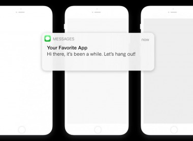A Notification from Your Favorite App (IMAGE)