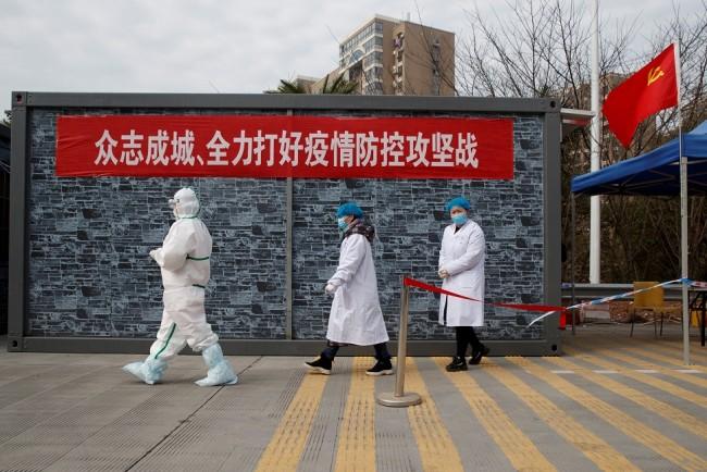 Hospital Staff in Hubei Province