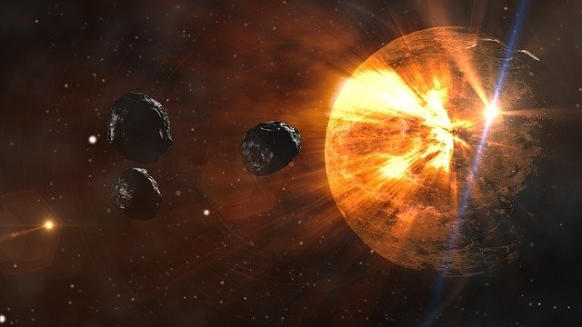 Giant Asteroid Passed Earth
