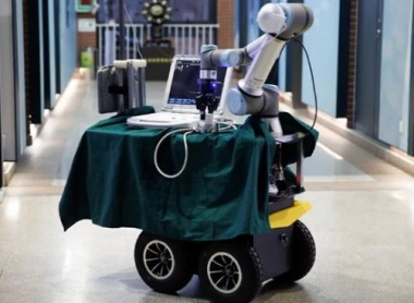 Robot Designed to Help Medical Workers