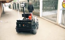 Surveillance Robot Patrols the Streets of Tunisia While on Coronavirus Lockdown