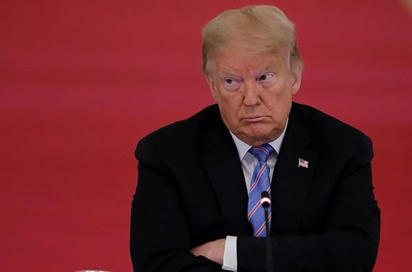 U.S. President Trump hosts workforce advisory board meeting