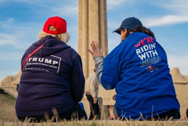 Joe Biden Campaigns In Kansas City Ahead Of Tuesday's Primary