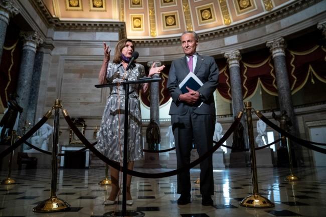 Treasury Secretary Mnuchin Joins GOP Policy Lunch On Capitol Hill