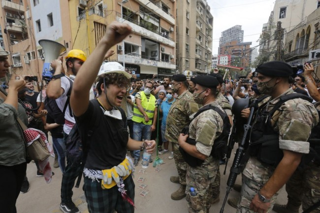Public Anger Grows Over Cause Of Beirut Explosion
