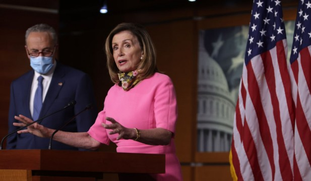 President Trump Authorize $400-Per-Week Unemployment Payments Hits Hard-Balling by Pelosi and Schumer as Stalling Tactics