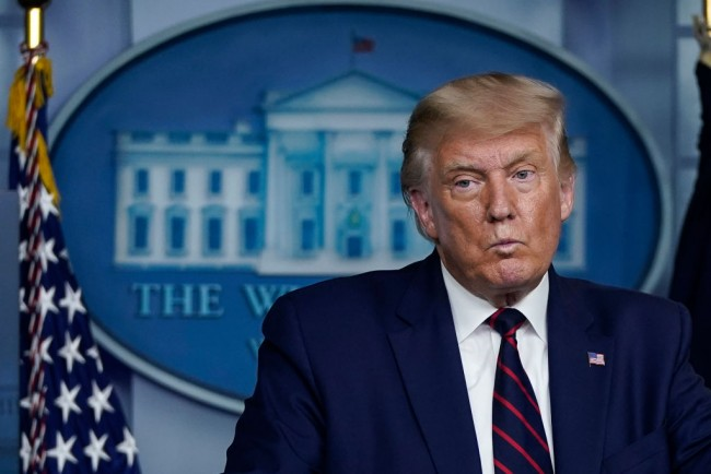 President Trump Holds Briefing At White House