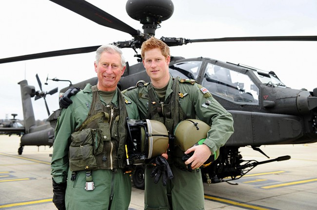 Prince Harry Promoted to Captain
