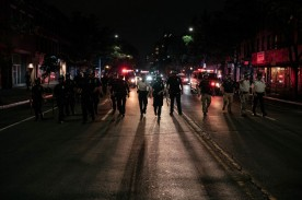 Protests Against Police Brutality Over Death Of George Floyd Continue In NYC