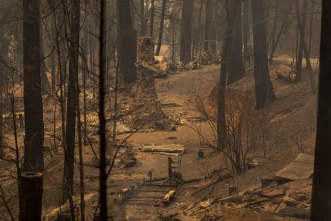 Creek Fire Grows Rapidly Near Shaver Lake, California