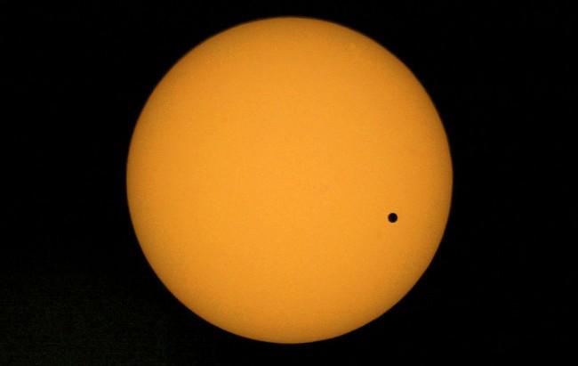 Planet Venus Transits The Sun