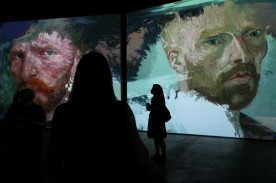 Van Gogh Alive Exhibition Media Preview