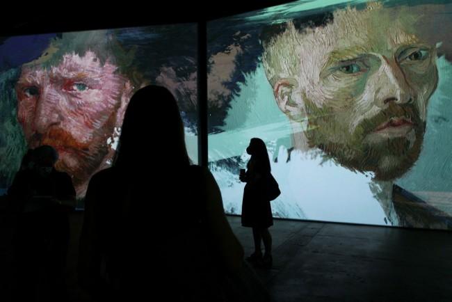 Van Gogh Alive Exhibition Media Preview