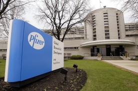 Pfizer Announces Closings