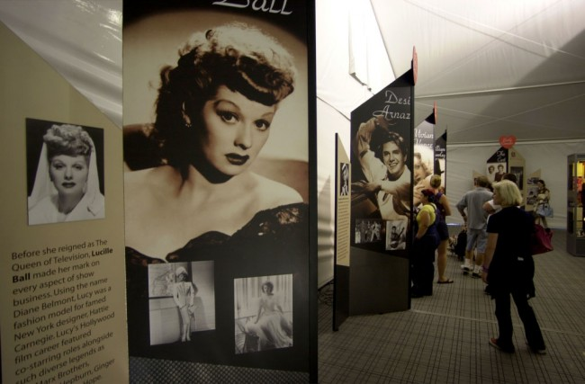"Exhibit Celebrates 50th Anniversary of ""I Love Lucy"""